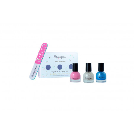 Winter nail polish set for children